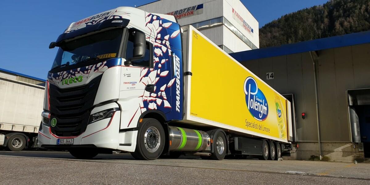 IVECO dodává české společnosti Transbozen S-WAY LNG pro udržitelnou dopravu